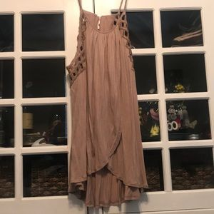 NWT Free People Drape Tank